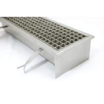 Stainless steel industrial floor drains with non skid grate S140-S500
