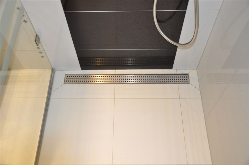 Linear Stainless Steel Shower Drains With Grate And 800mm