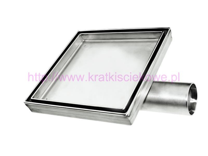Stainless steel tile insert  square floor drains 150x150